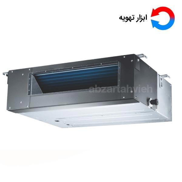 قیمت داکت اسپلیت به لحاظ دارا بودن مشخصات فنی مانند اسپلیت دیواری که از یک یونیت داخلی که در سقف کاذب جای می گیرد تشکیل شده است و پوشیده می شود و یک یونیت خارجی کندانسور را نیز دارا می باشد.